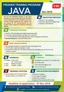 Java Fresher Training Program -10-04